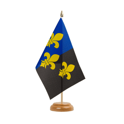 "Table Flag Great Britain Monmouthshire - 6x9"" (15 x 22 cm), wooden"