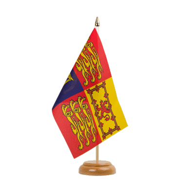 "Table Flag Great Britain Royal - 6x9"" (15 x 22 cm), wooden"