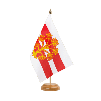 "Table Flag Westmorland - 6x9"" (15 x 22 cm), wooden"