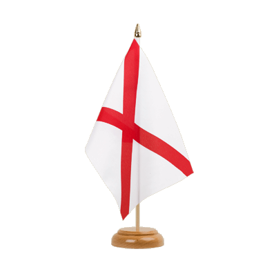 "Table Flag Alabama - 6x9"" (15 x 22 cm), wooden"