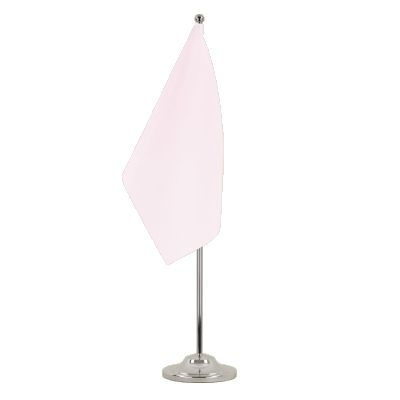 Drapeau de table prestige Rose 15x22 cm