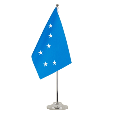Satin Table Flag Starry Plough - 6x9""