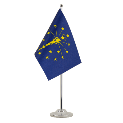 Drapeau de table prestige Indiana 15x22 cm