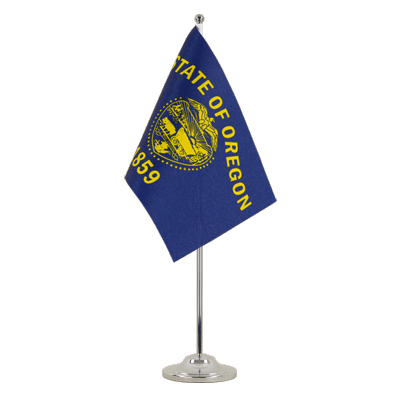Drapeau de table prestige Oregon 15x22 cm