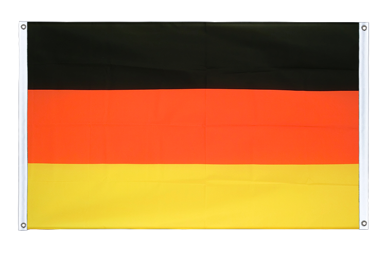 Banner Flag Germany - 3x5 ft (90x150 cm), landscape