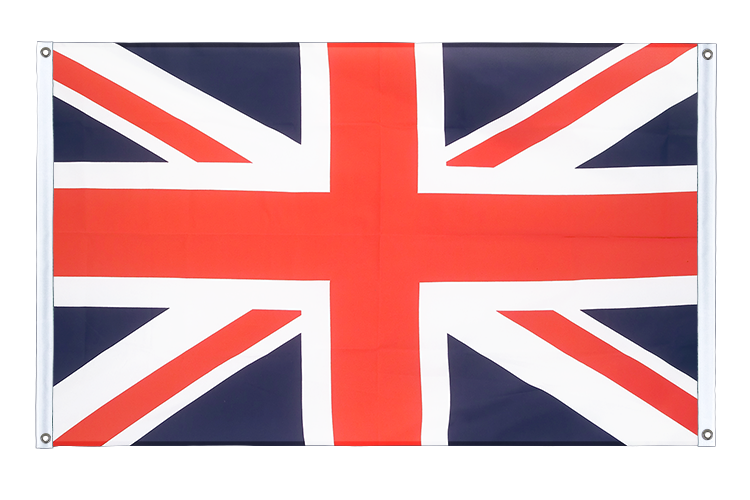 Banner Flag Great Britain - 3x5 ft (90x150 cm), landscape