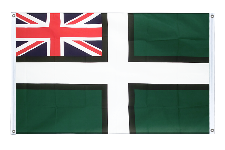 Banner Flag Devon ensign - 3x5 ft (90x150 cm), landscape