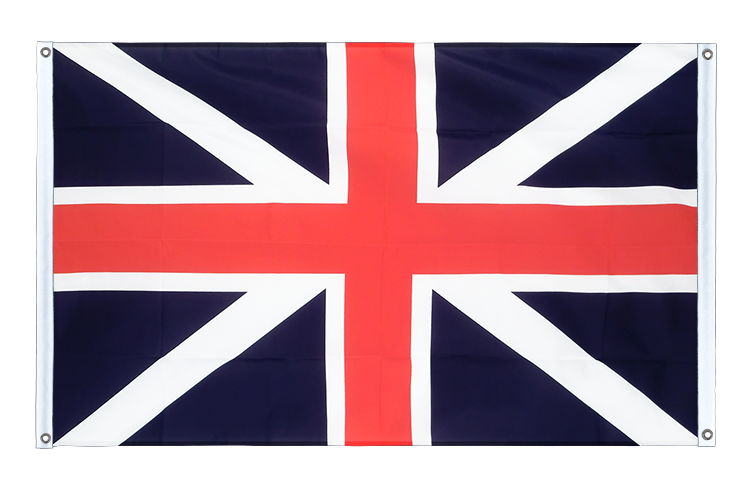 Banner Flag Great Britain Kings Colors 1606 - 3x5 ft (90x150 cm), landscape