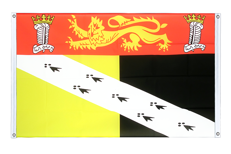 Banner Flag Norfolk - 3x5 ft (90x150 cm), landscape