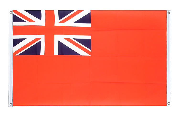 Banner Flag Red Ensign - 3x5 ft (90x150 cm), landscape