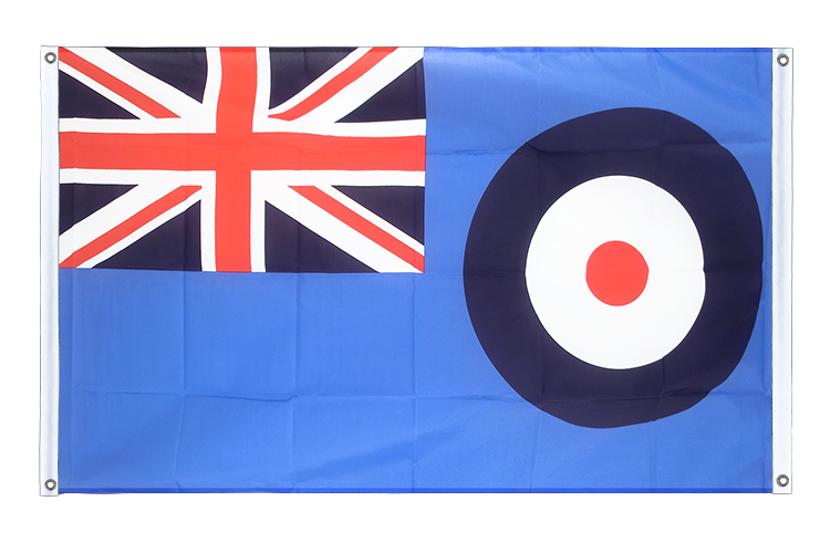 Banner Flag Royal Airforce - 3x5 ft (90x150 cm), landscape