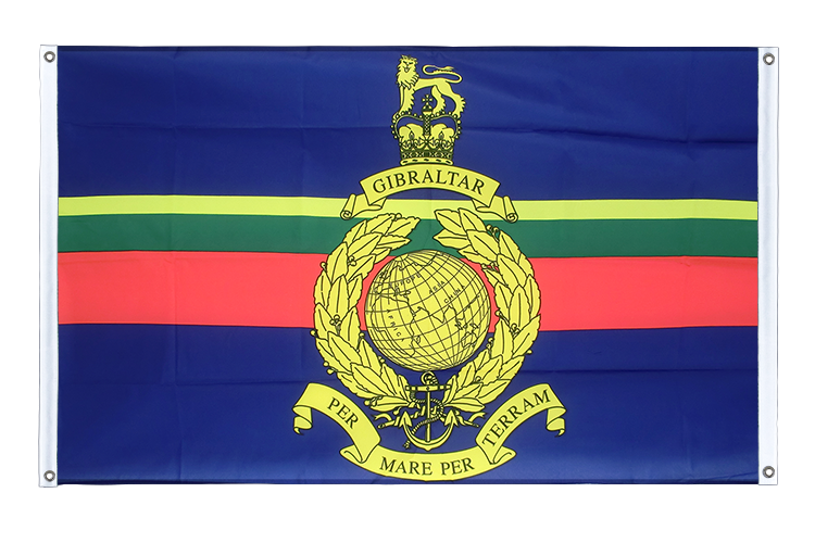 Banner Flag Royal Marines - 3x5 ft (90x150 cm), landscape