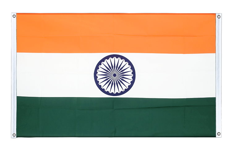 Banner Flag India - 3x5 ft (90x150 cm), landscape