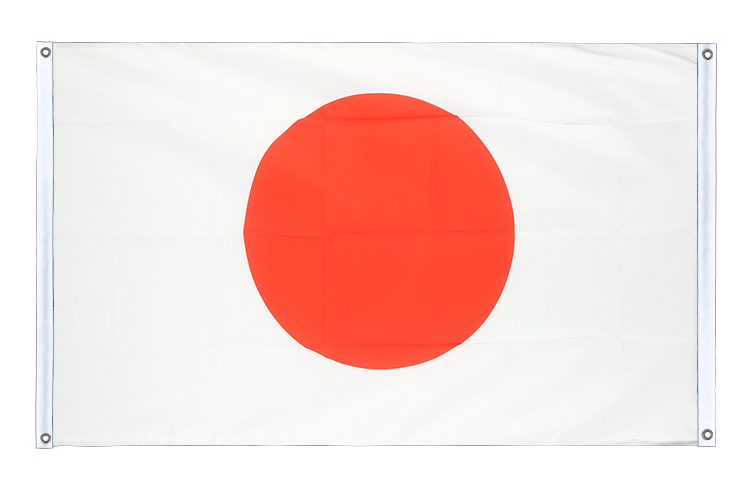 Banner Flag Japan - 3x5 ft (90x150 cm), landscape