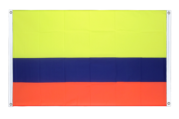 Banner Flag Colombia - 3x5 ft (90x150 cm), landscape