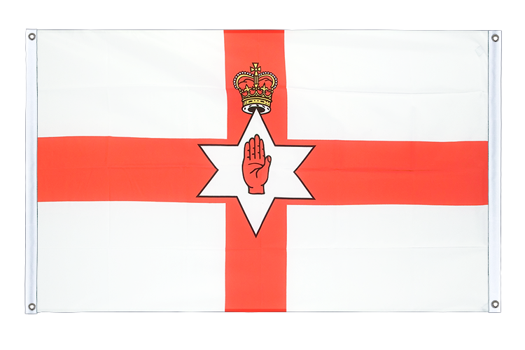 Banner Flag Northern Ireland - 3x5 ft (90x150 cm), landscape