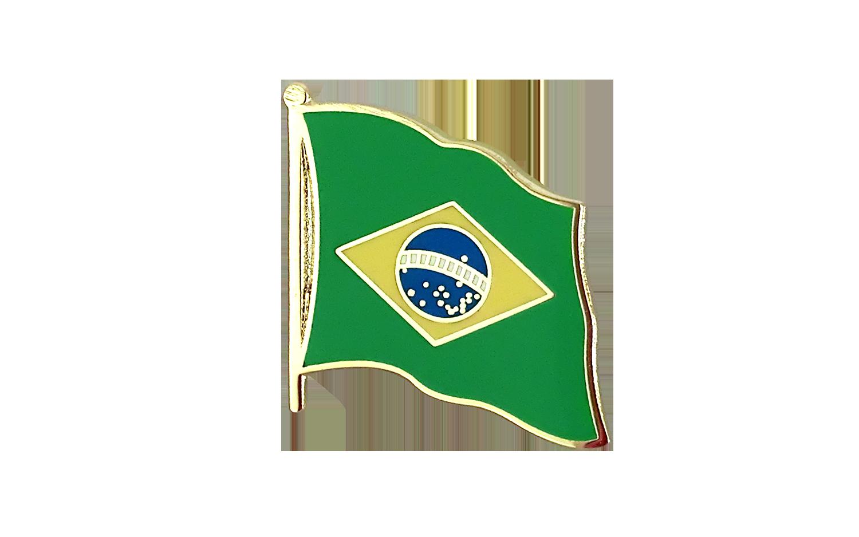 Brazil Flag  Lapel Pin Brazil Pin