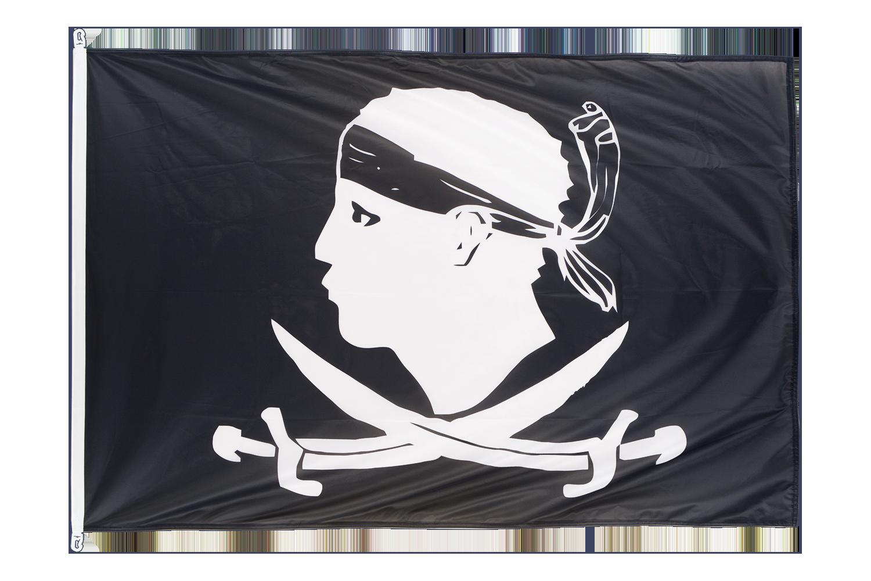 Pavillon drapeau pirate corse 100x150 monsieur des - Monsieur pirate ...