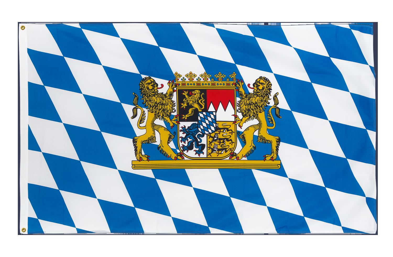 drapeau de qualit u00e9   bavi u00e8re lion - 90 x 150 cm cv