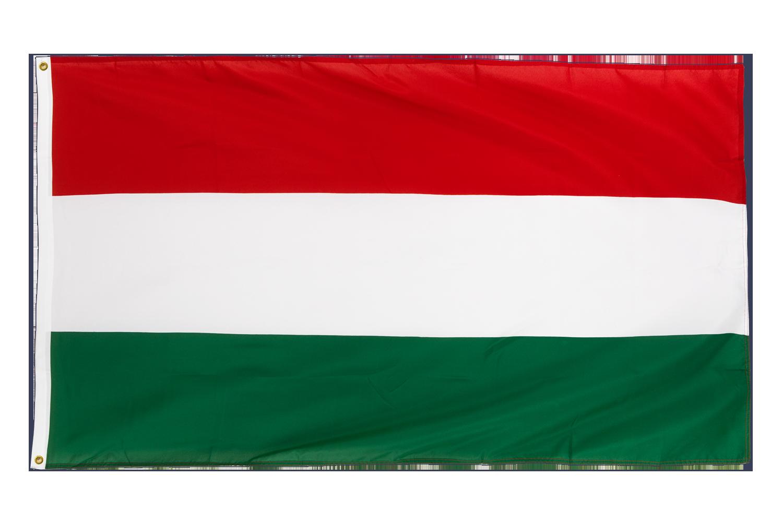 drapeau de qualit u00e9   hongrie - 90 x 150 cm cv