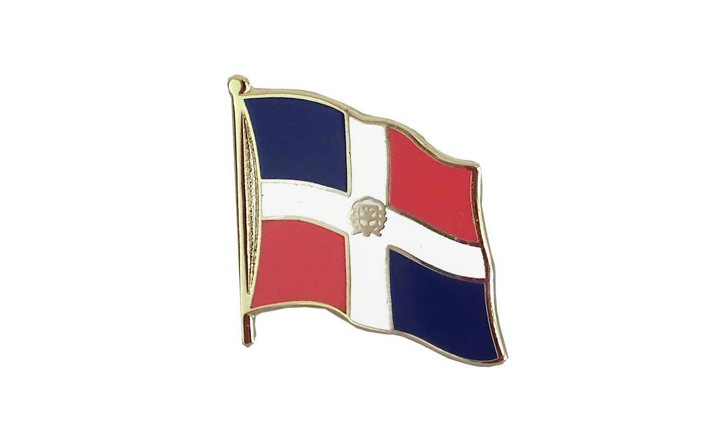 Wonderful Dominican Republic   Flag Lapel Pin