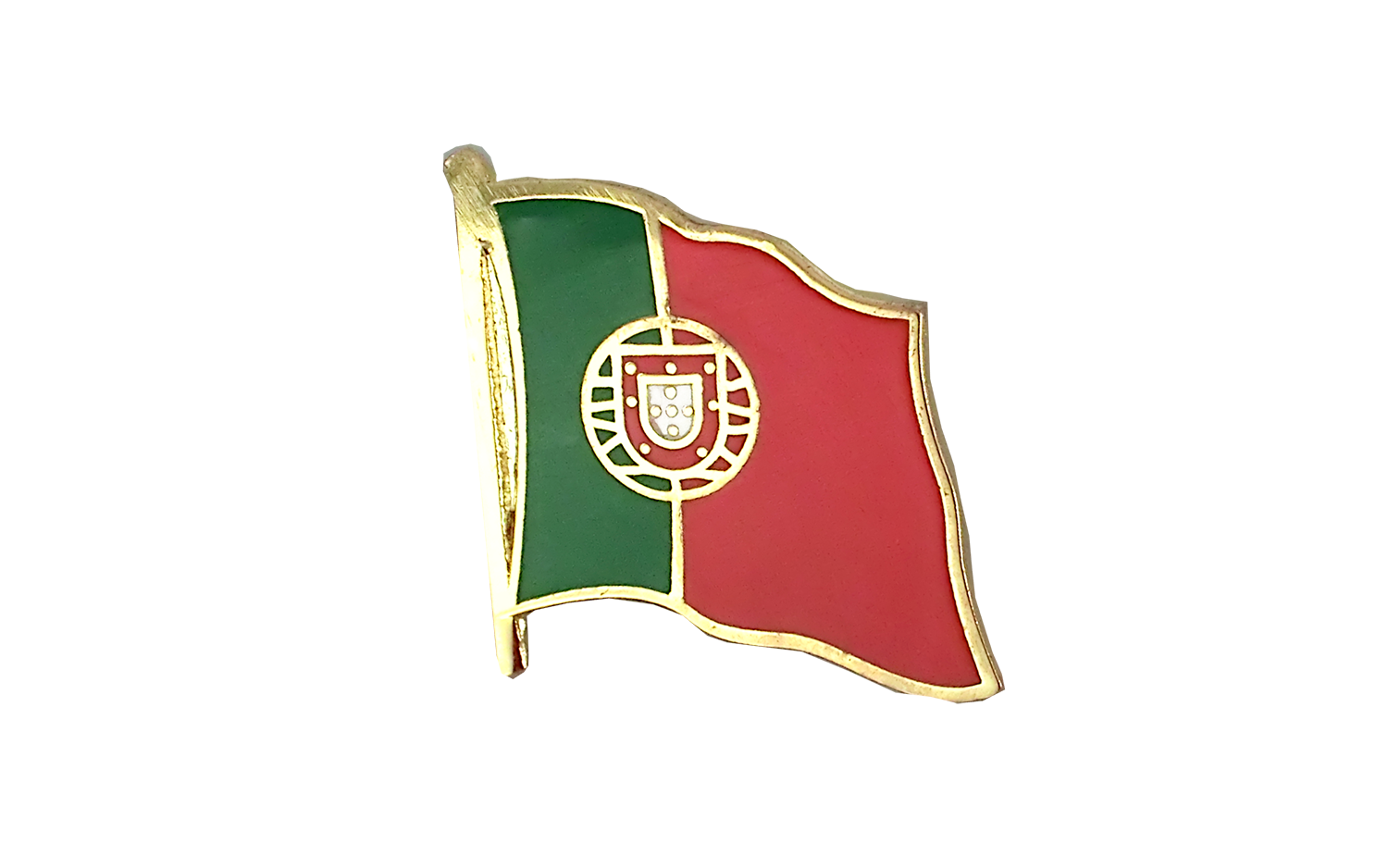 Portugal Portuguese Country Flag Enamel Pin Badge