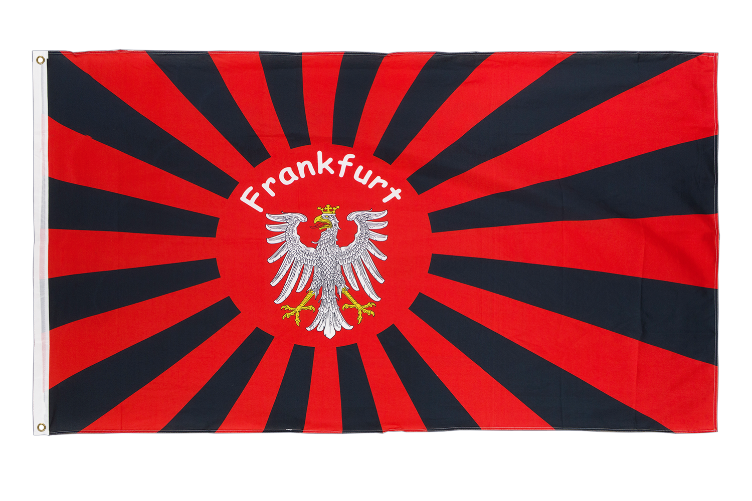 frankfurt rising sun 3x5 ft flag 90x150 cm royal flags. Black Bedroom Furniture Sets. Home Design Ideas