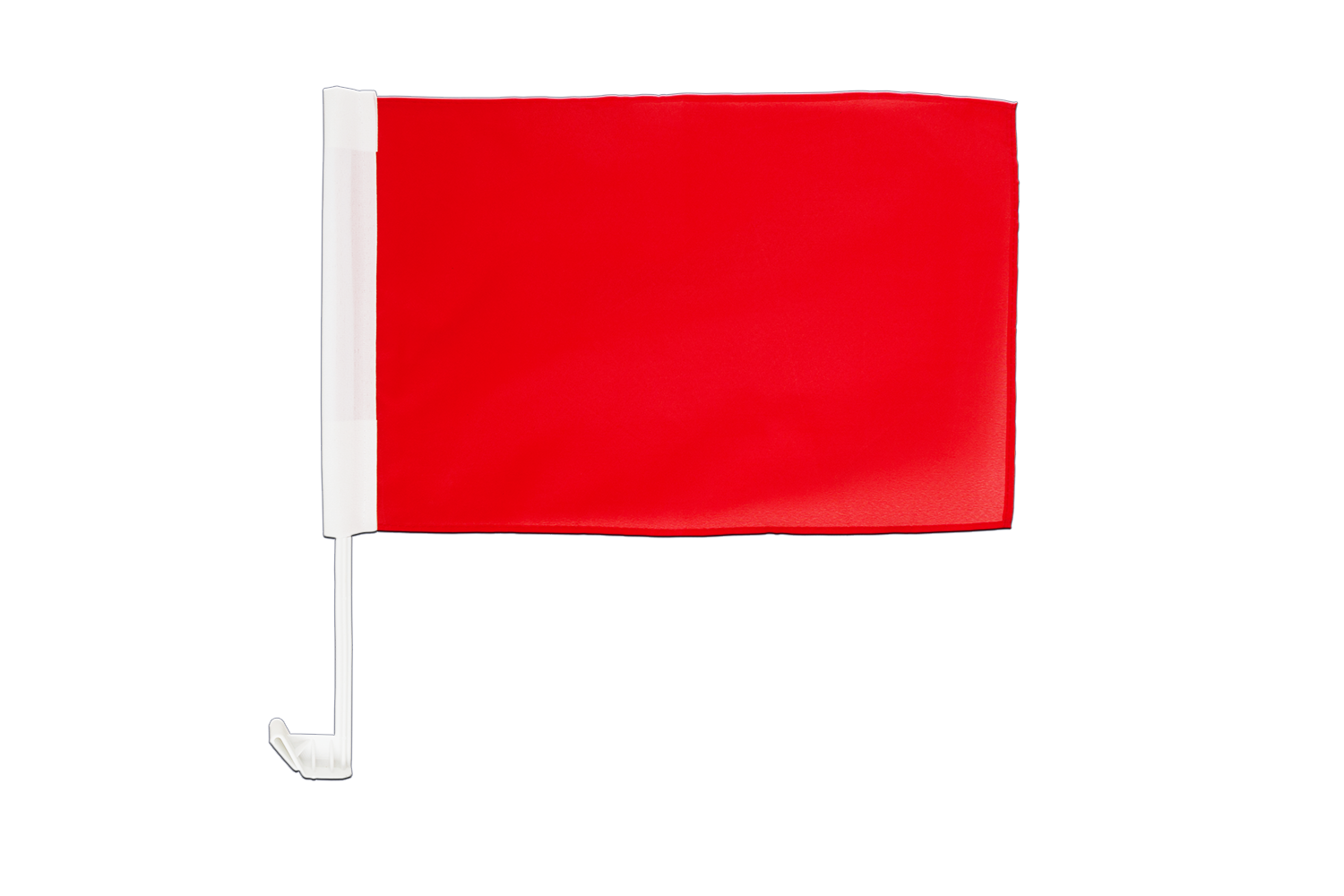 rote Tischflagge 10 x 15 cm MaxFlags/® Einfarbig Rote Flagge