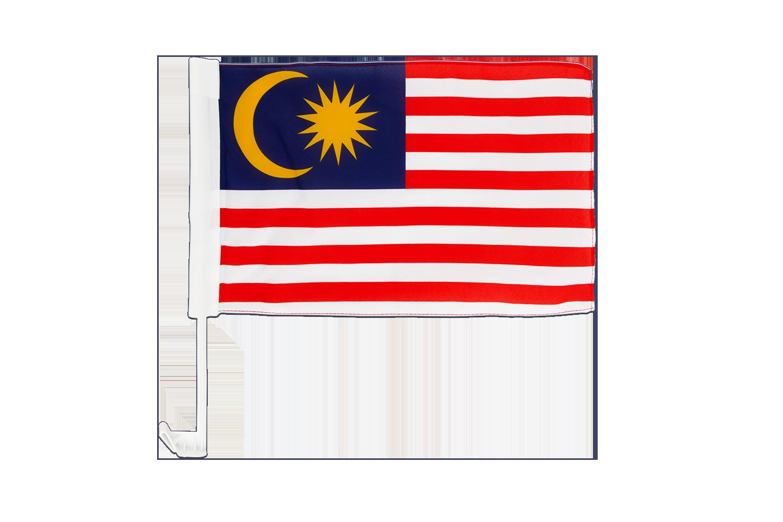 Stockflagge Malaysia 30 x 45 cm