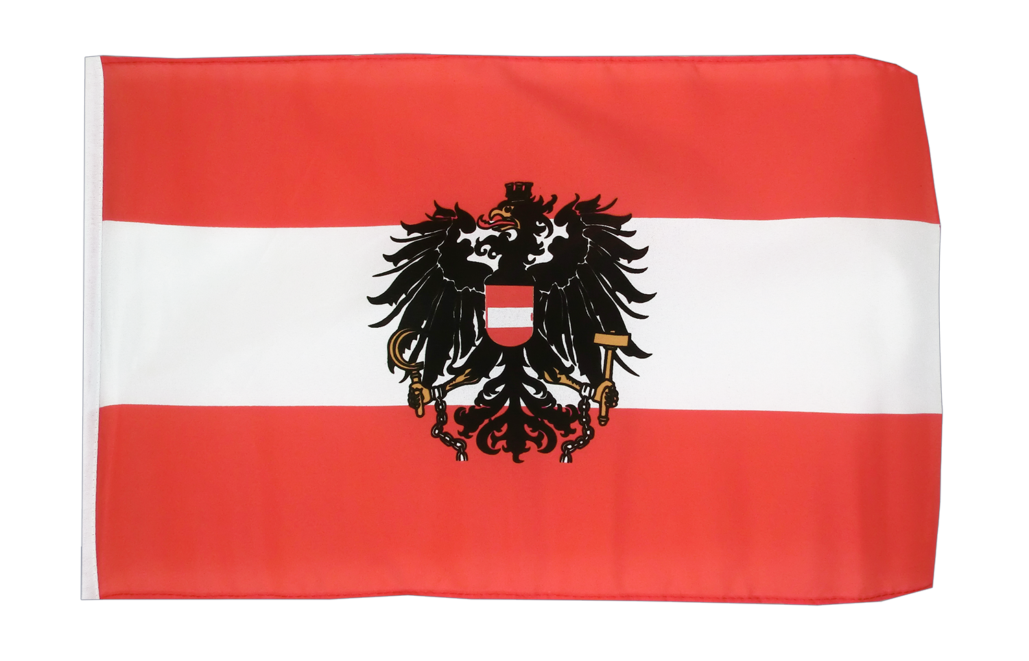 kleine sterreich adler flagge 30 x 45 cm flaggenplatz. Black Bedroom Furniture Sets. Home Design Ideas