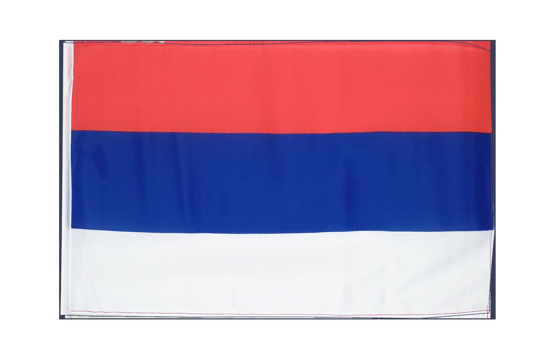 kleine serbien flagge 30 x 45 cm flaggenplatz. Black Bedroom Furniture Sets. Home Design Ideas