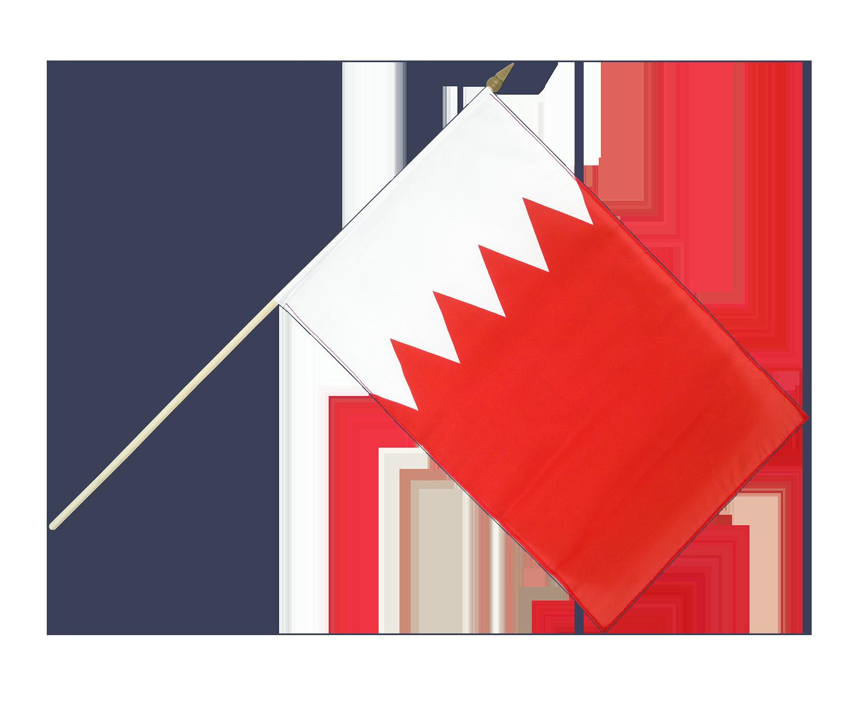 Hand Waving Flag Bahrain X RoyalFlags - Bahrain flags