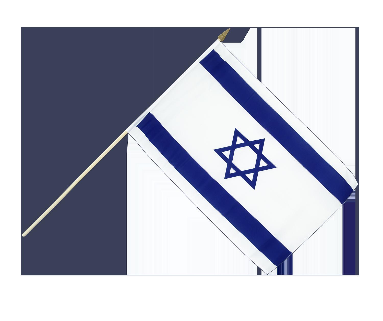 israel stockflagge 30 x 45 cm flaggenplatz. Black Bedroom Furniture Sets. Home Design Ideas
