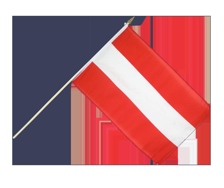 hand waving flag austria 12x18 royal flags