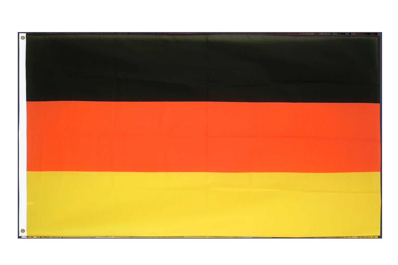 deutschland flagge kaufen 90 x 150 cm flaggenplatz online shop. Black Bedroom Furniture Sets. Home Design Ideas