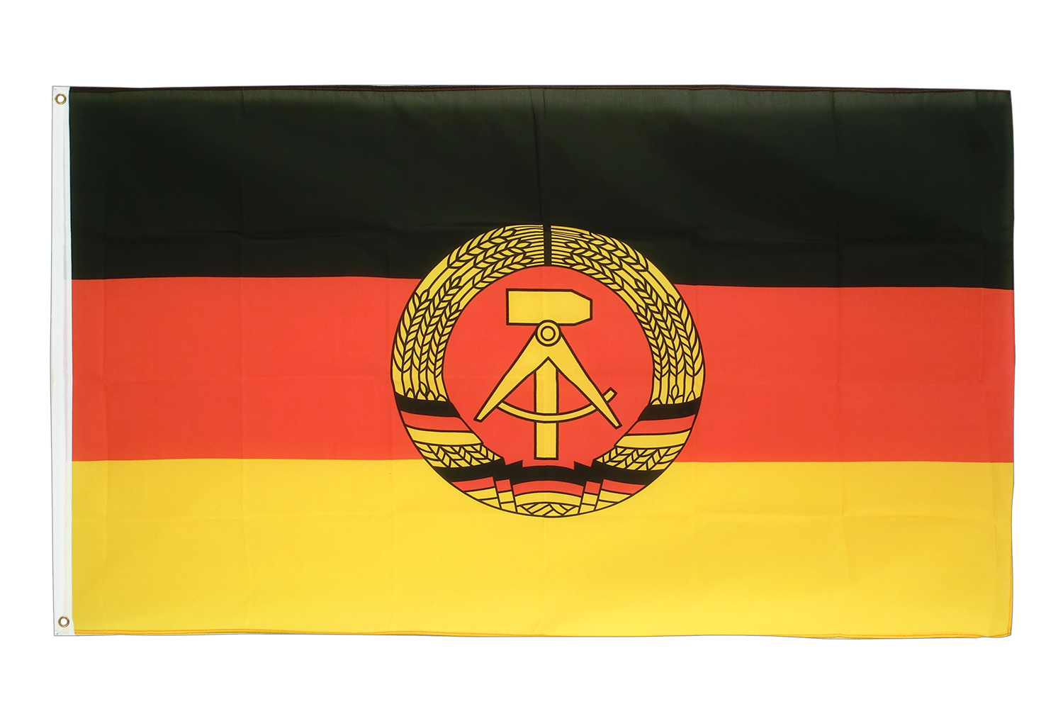 ddr flagge kaufen 90 x 150 cm flaggenplatz online shop. Black Bedroom Furniture Sets. Home Design Ideas