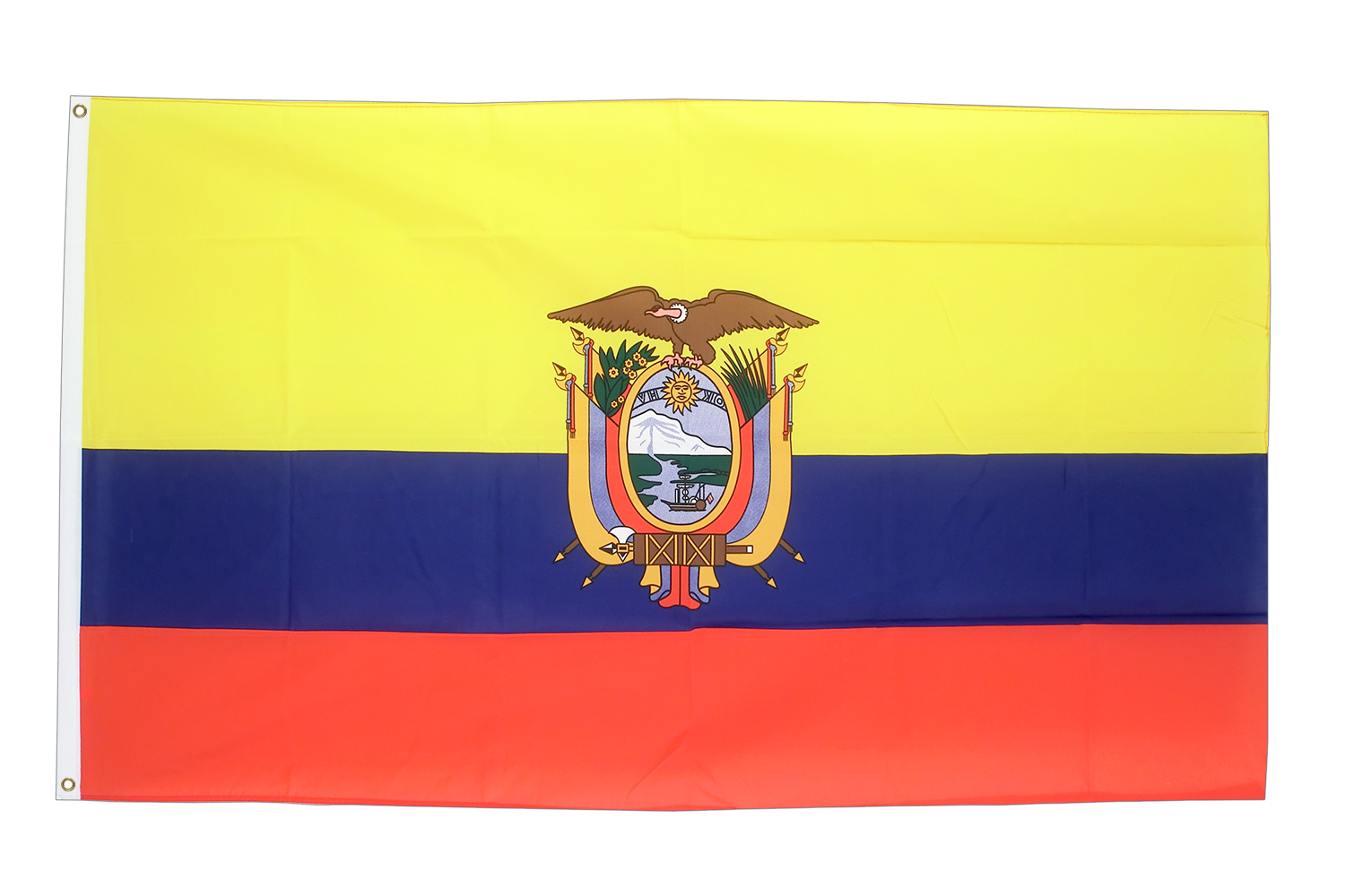 Ecuador   3x5 Ft Flag