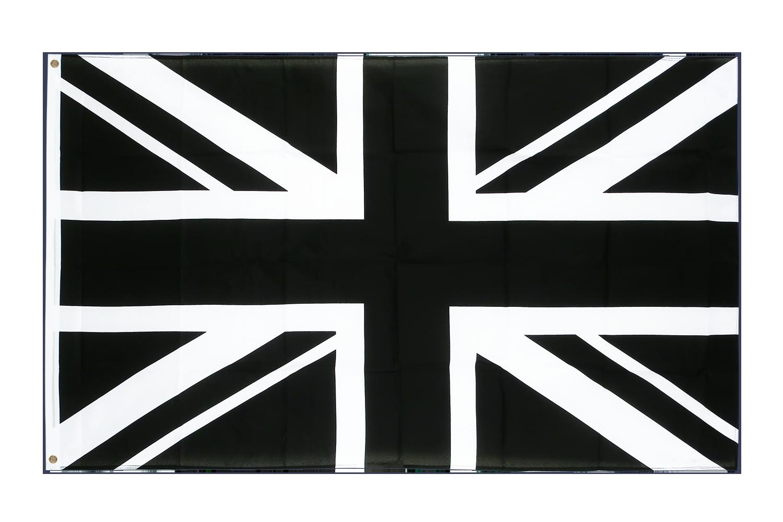 drapeau union jack noir 90 x 150 cm monsieur drapeaux. Black Bedroom Furniture Sets. Home Design Ideas
