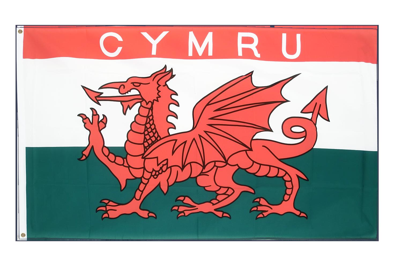 Drapeau pays de galles cymru 90 x 150 cm m drapeaux - Logo pays de galles ...