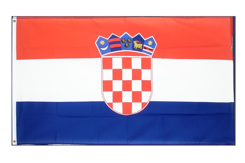Drapeau pas cher croatie 60 x 90 cm monsieur des drapeaux for Drapeau publicitaire exterieur pas cher