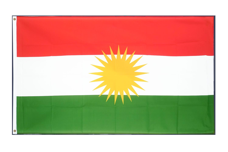 Drapeau pas cher kurdistan 60 x 90 cm monsieur des for Drapeau publicitaire exterieur pas cher