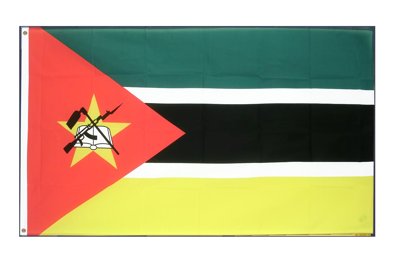 Drapeau pas cher mozambique 60 x 90 cm monsieur des for Drapeau publicitaire exterieur pas cher