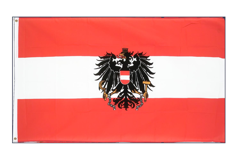Deutschland Fahne mit Adler  Flaggen  90 x150 cm mit 2 Ösen