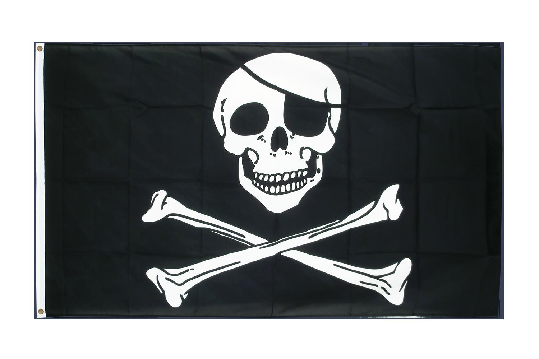 Drapeau pirate pas cher 60 x 90 cm boutique de m drapeaux for Drapeau publicitaire exterieur pas cher