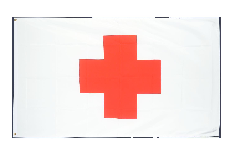 Drapeau pas cher croix rouge 60 x 90 cm monsieur des for Drapeau publicitaire exterieur pas cher