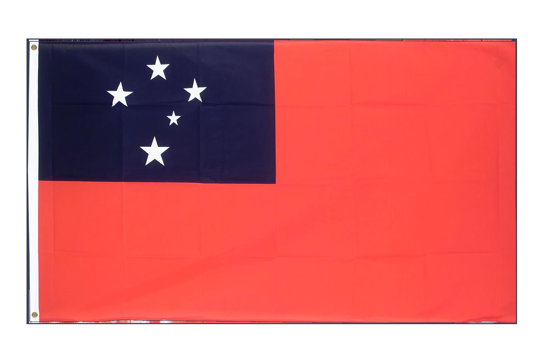 Drapeau pas cher samoa 60 x 90 cm monsieur des drapeaux for Drapeau publicitaire exterieur pas cher