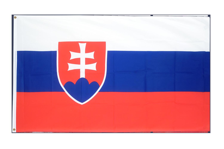 Drapeau pas cher slovaquie 60 x 90 cm monsieur des for Drapeau publicitaire exterieur pas cher