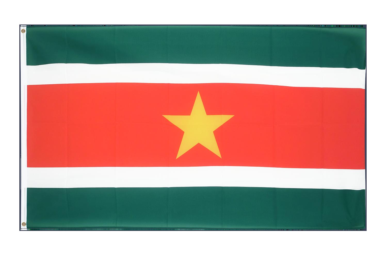 Drapeau pas cher suriname 60 x 90 cm monsieur des drapeaux for Drapeau publicitaire exterieur pas cher