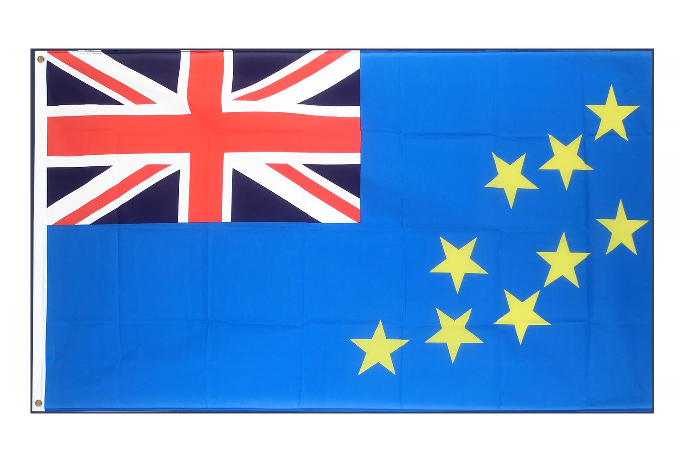 Drapeau pas cher tuvalu 60 x 90 cm monsieur des drapeaux for Drapeau publicitaire exterieur pas cher