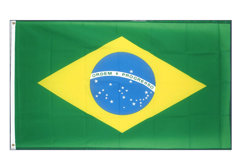 Large Brazilian Flag - 5x8 ft - Royal-Flags.co.uk